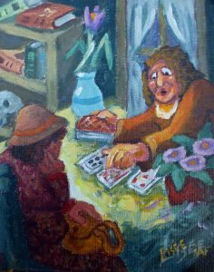 La tireuse de cartes