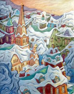 L'hiver en ville