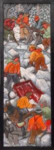 Les scieurs de glace